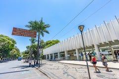 BELO HORIZONTE, BRAZYLIA - 13, PAŹDZIERNIK, 2017: Pałac sztuki, Mina obrazy royalty free