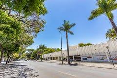 BELO HORIZONTE, BRAZYLIA - 13, PAŹDZIERNIK, 2017: Pałac sztuki, Mina zdjęcia royalty free