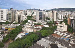Belo Horizonte. City landscape of downtown Belo Horizonte, Brazil Stock Images