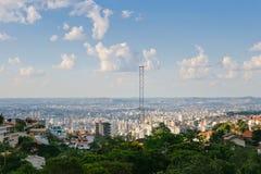Belo Horizonte sikt Arkivfoto