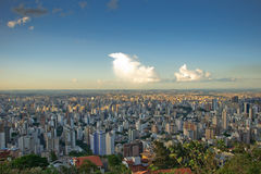 Belo Horizonte view stock photography