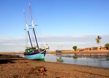 Belo Sur Mer, Madagaskar Stockbild