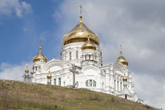 Belogorsky圣尼古拉斯修道院 图库摄影
