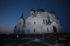 Belogorsky-Kloster Weißer Berg Permskiy Kray, Russland lizenzfreie stockfotografie
