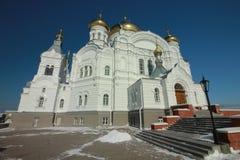 Belogorsky-Kloster Weißer Berg Permskiy Kray, Russland stockfotos