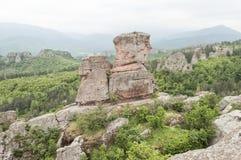 belogradchik保加利亚岩石 库存照片