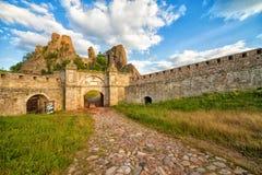 Belogradchik堡垒 免版税库存照片
