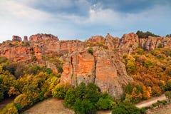 belogradchik岩石 免版税库存照片