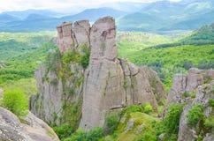 Belogradchik岩石 库存照片