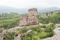 belogradchik βράχοι της Βουλγαρία&sigma Στοκ Φωτογραφίες
