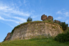 Belogradchik balanç a fortaleza Imagem de Stock Royalty Free