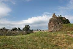 Belogradchik balanç a fortaleza Fotos de Stock