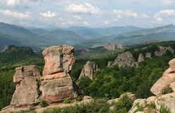 Belogradchik balanç a fortaleza Fotografia de Stock Royalty Free
