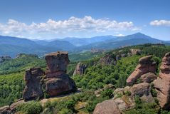 Belogradchik, Bulgária Foto de Stock Royalty Free