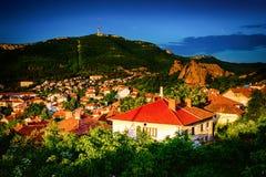 Belogradchik Bulgarien arkivfoto