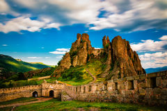 Belogradchik Bulgarien fotografering för bildbyråer