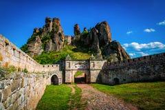 Belogradchik Bulgarien arkivbilder
