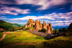 Belogradchik Bulgarien Royaltyfri Bild