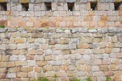 Belogradchik fästningvägg Arkivbild
