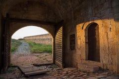 Belogradchik-Festungseingang Lizenzfreie Stockbilder