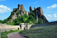 Belogradchik forteca Fotografia Royalty Free