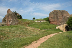 belogradchik fortecy skały obrazy royalty free