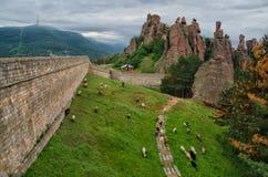 Belogradchik Fortress, Bulgaria stock image