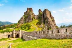 Belogradchik Kaleto, fortaleza antigua, atracción turística Fotografía de archivo libre de regalías