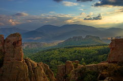 Belogradchik rock formation, Bulgaria Stock Photo