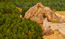 Belogradchik Rocks. Part of the fortress of rocks Belogradchik Fortress, Bulgaria Stock Photo