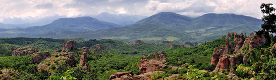 Belogradchik Rocks. Are a unique natural phenomenon,view Royalty Free Stock Photos