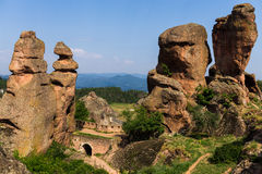 Belogradchik. Rocks amazing place in Bulgaria Royalty Free Stock Images