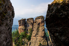 Belogradchik. Rocks amazing place in Bulgaria Royalty Free Stock Photography