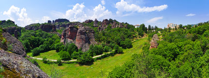 Belogradchik Rocks formation, Bulgaria Stock Images