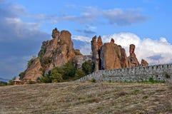 Belogradchik rocks Fortress Royalty Free Stock Photos