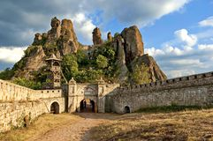 Belogradchik rocks Fortress, Bulgaria, Europe Stock Photos
