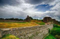 Belogradchik rocks Fortress, Bulgaria Royalty Free Stock Image
