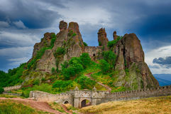 Belogradchik rocks Fortress, Bulgaria Royalty Free Stock Photo