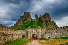 Belogradchik rocks Fortress, Bulgaria Stock Images