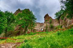 Belogradchik rocks Fortress, Bulgaria Royalty Free Stock Photos