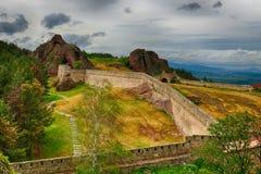 Belogradchik rocks Fortress, Bulgaria Stock Photo