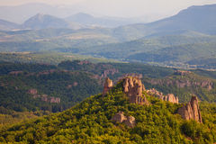 Belogradchik Rocks Landscape Royalty Free Stock Image