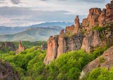 Belogradchik rocks Stock Images