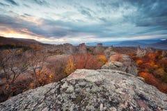 Belogradchik rocks Royalty Free Stock Images