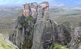 Natural rock Europe Bulgaria royalty free stock image