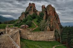 Belogradchik Fortress, Bulgaria royalty free stock photo