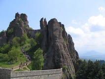 Belogradchik Rocks. Near the town Belogradchic Royalty Free Stock Image