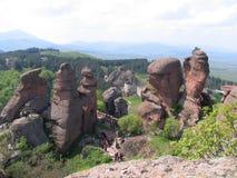 Belogradchik Rocks. Near the town Belogradchic Royalty Free Stock Images