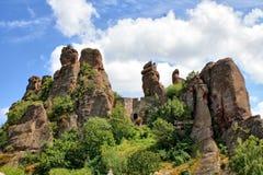 The Belogradchik rocks wonder Stock Images