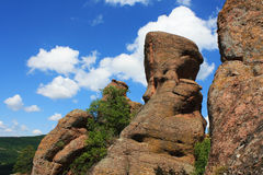 The Belogradchik rocks wonder Royalty Free Stock Photo